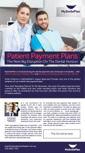 interest free dental payment plan