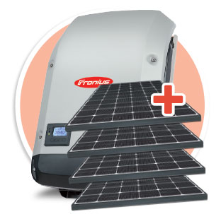 Fronius Inverter & Solar Package 5kw