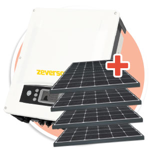 Zervsolar 5kw Three Phase Package