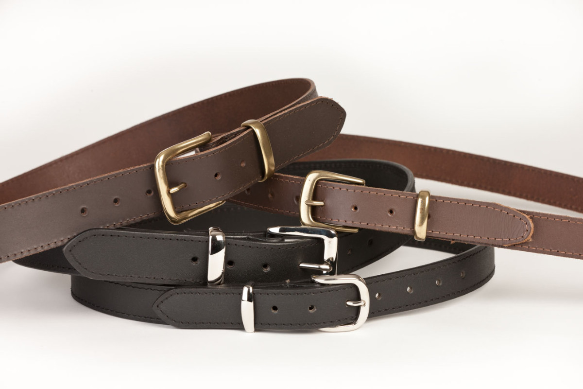 Leather belts lastrite footwear