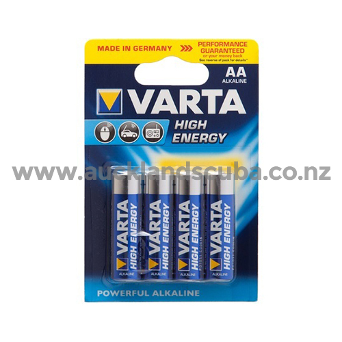 'AA' Four Pack Alkaline Batteries