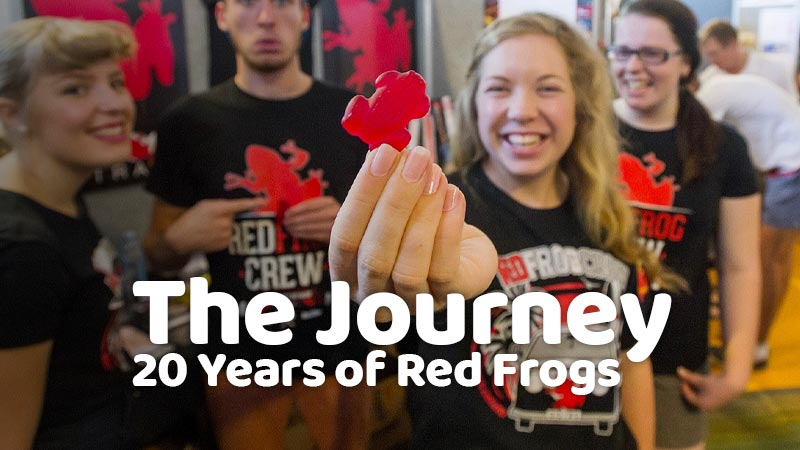 20 Years of Red Frogs