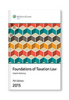 Foundations of Taxation Law 2015