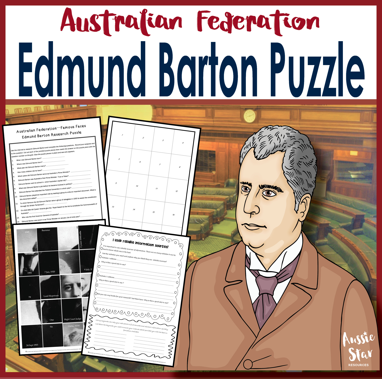 Edmund Barton U Edmund Barton: Australian Federation - Henry Parkes