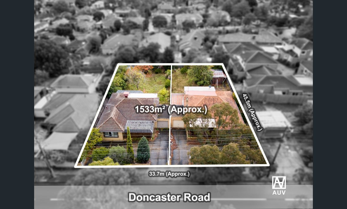 PLANS & PERMITS FOR 14 LUXURY TOWNHOUSES IN THE HEART OF DONCASTER EAST