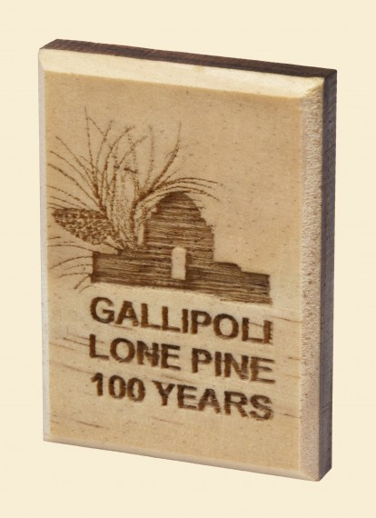 Gallipoli Lone Pine 100 years: Lapel pin, Lone Pine