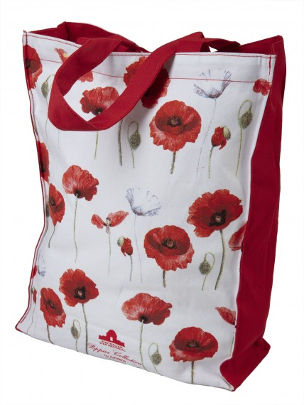 Tote bag: poppies collection