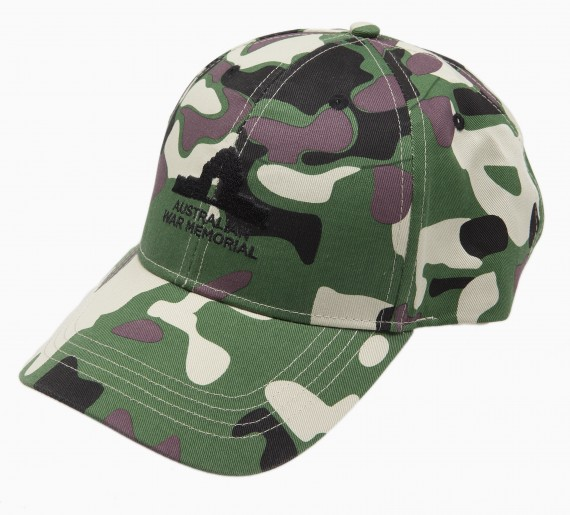 Cap: Australian War Memorial camo adult