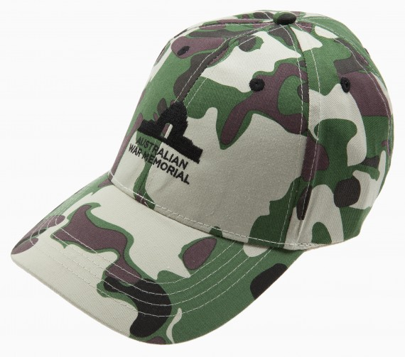 Cap: Australian War Memorial camouflage print - children