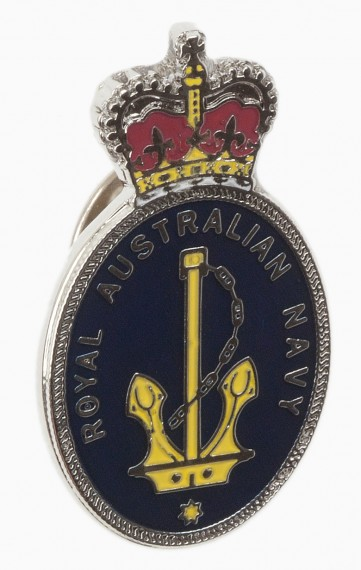 Lapel pin: Royal Australian Navy badge