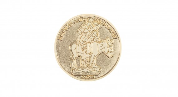 Commemorative coin: Simpson & his donkey