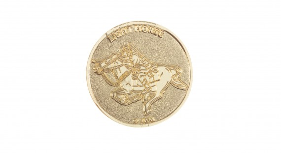 Commemorative coin: Light Horse