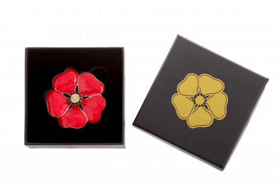 The Memorial poppy brooch [small]