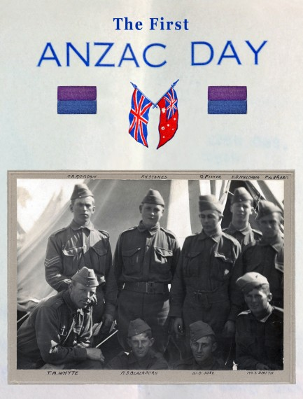The first Anzac Day DVD