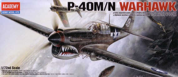 P-40 M / N Warhawk (with Australian markings)