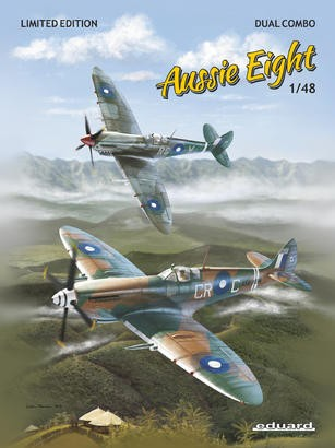 Model kit: Aussie Eight, Spitfire Mk.VIII [dual combo kit - limited edition]