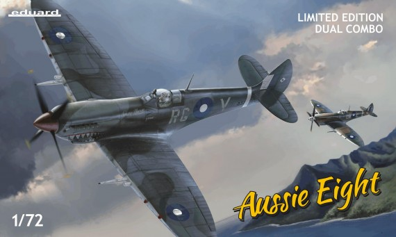 Model kit: Aussie Eight, Spitfire Mk.VIII [dual combo kit]