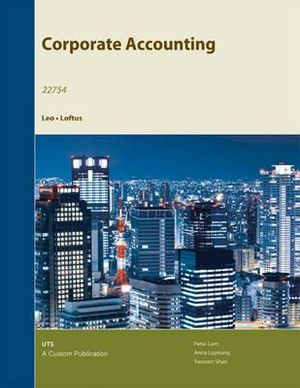 (AUCS) Corporate Accounting: 22754 Custom for University of Technology Sydney