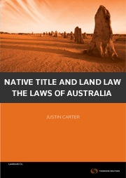 Native Title and Land Law: TLA Bk