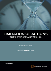 Limitation of Actions 4e - Laws of Aust