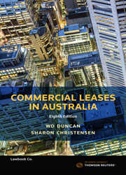 Commercial Leases in Australia 8e