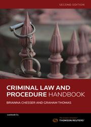 Criminal Law and Procedure Handbook 2e