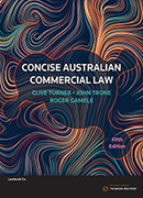 Concise Aus Comm Law 5e