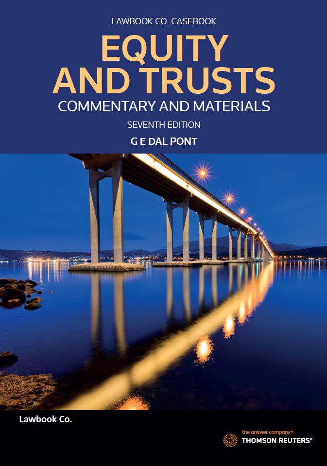 Equity & Trusts:Commentary & Materials 7th Edition