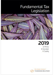 Fundamental Tax Legislation 2019