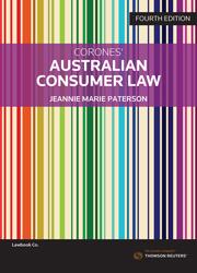 Corones Aus Consumer Law 4e
