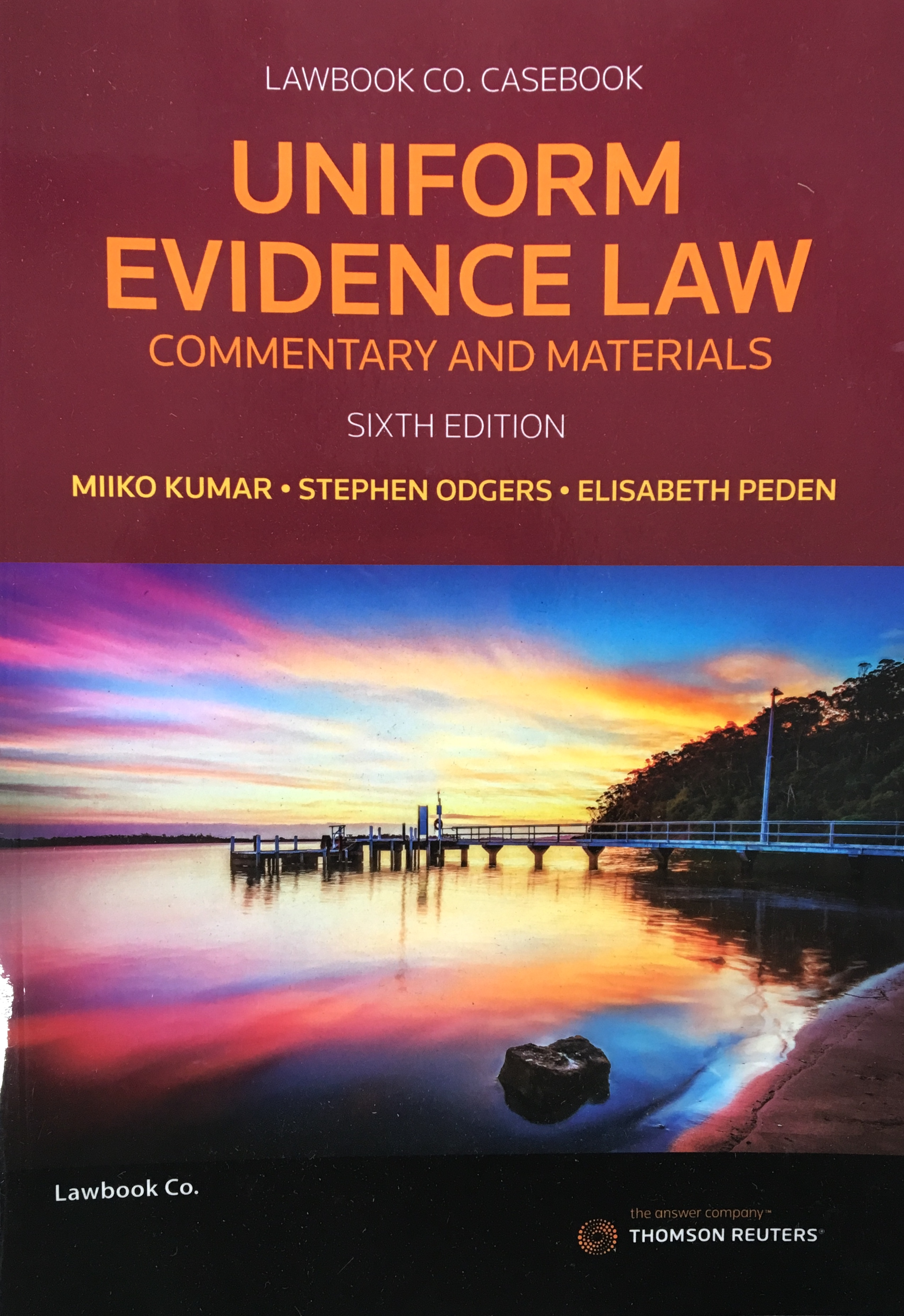 *ZZ*Uniform Evidence Law_13e/UEL:C&M_6e