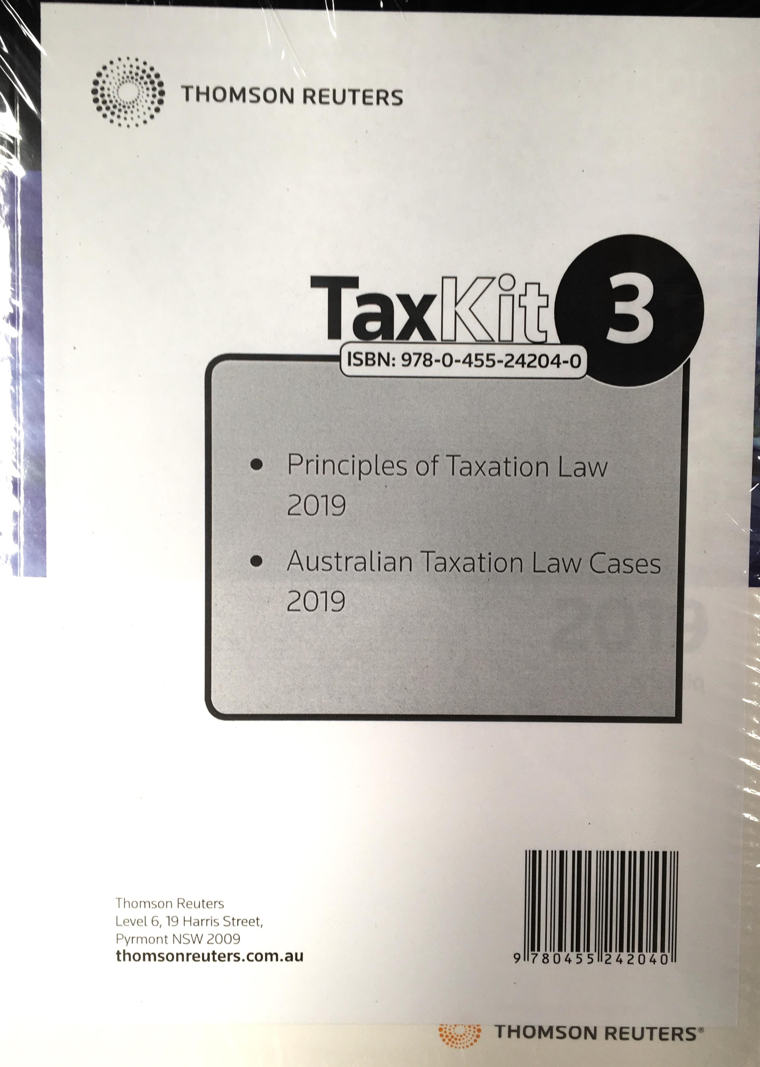 Tax Kit 3 2019
