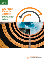 XYZ Model Financial Accounts - Volume 2 - General Purpose Financial Reporting 2019