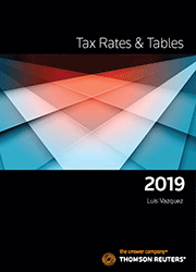 Tax Rates & Tables 2019