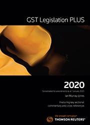 GST Legislation Plus 2020