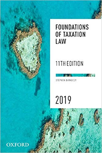 Foundations of Taxation Law 2019 eBook