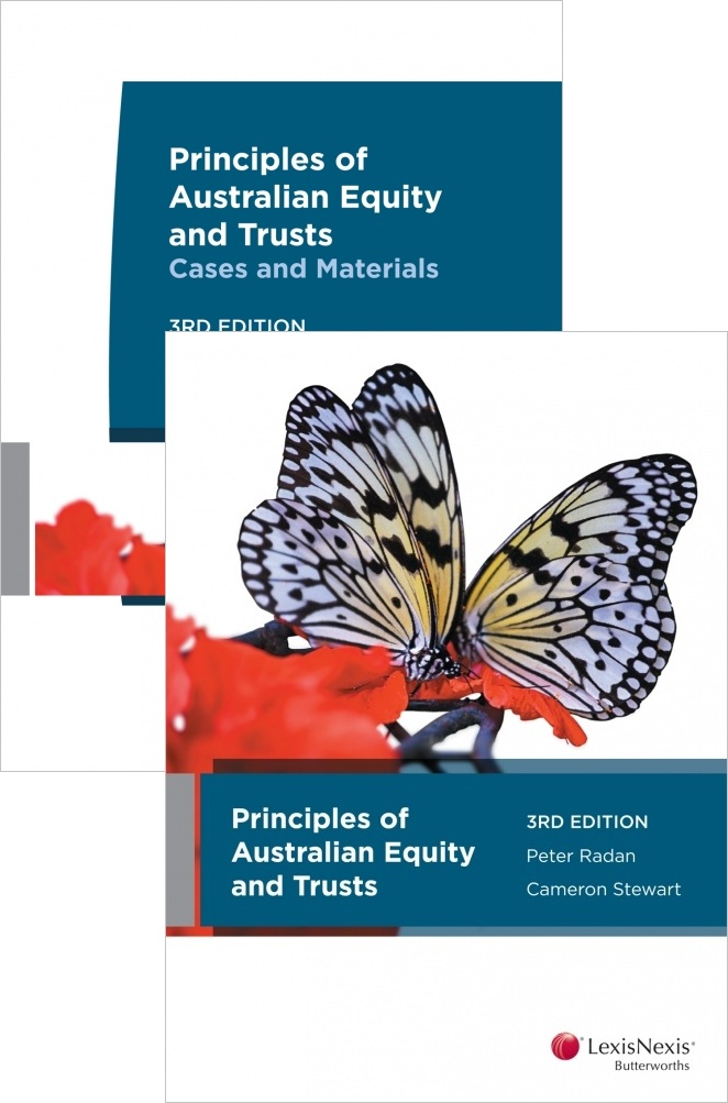 Principles Of Australian Equity And Trusts 3E + Principles Of Australian Equity And Trusts Cases And Materials 3E (LAWS217)