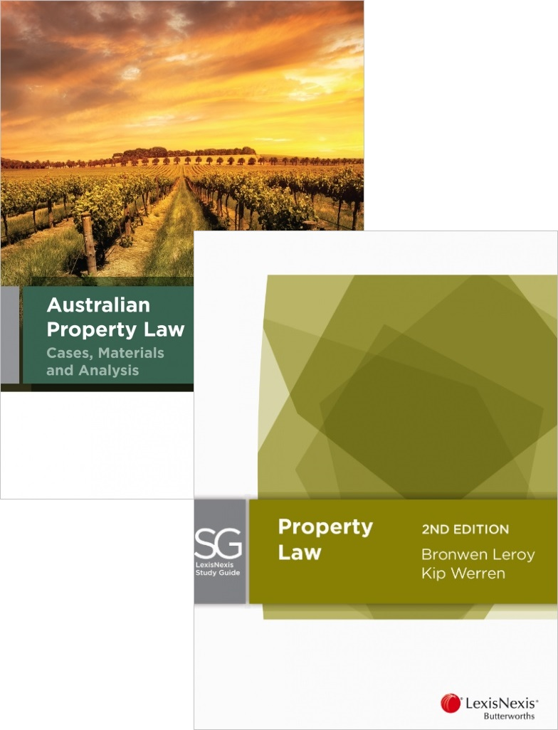 LexisNexis Study Guide: Property Law, 2nd edition and Australian Property Law Cases, Materials and Analysis, 4th edition (Bundle)