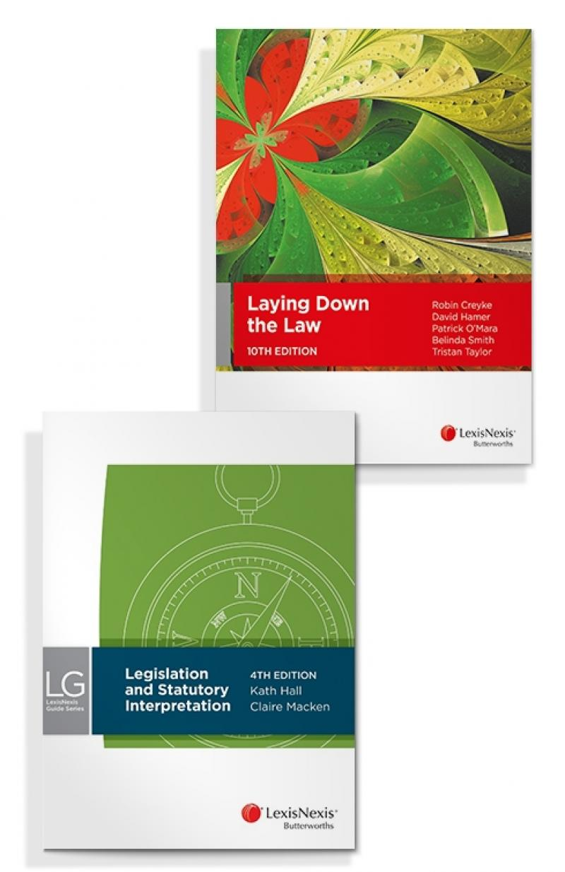 LexisNexis Guide Series: Legislation and Statutory Interpretation, 4th edition and Laying Down the Law, 10th Edition (Bundle)