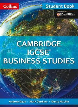 Cambridge IGCSE Business Studies Student Book