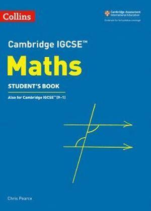 Cambridge IGCSE Maths Student's Book, 3rd Edition