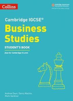 Cambridge IGCSE Business Studies Student's Book