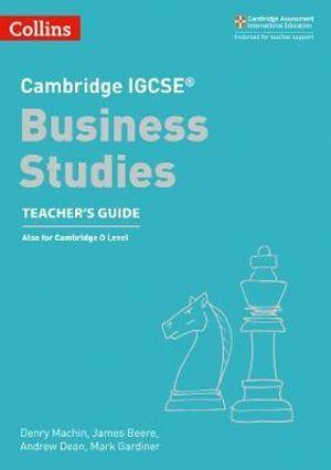 Cambridge IGCSE (TM) Business Studies Teacher's Guide