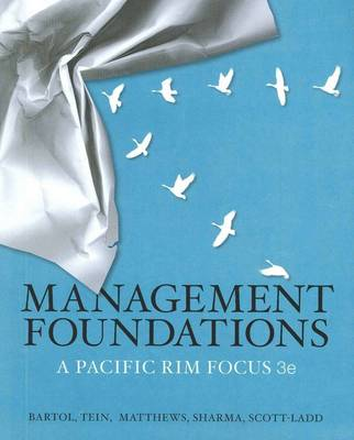 Management Foundations: A Pacific Rim Focus