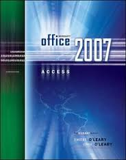 Microsoft Office Access Introductory + Microsoft Office Excel Introductory + Computer Accounting Using Myob Business Sft