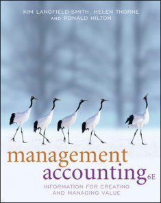 Connect Plus Online Access for Management Accounting: Information for Managing and Creating Value