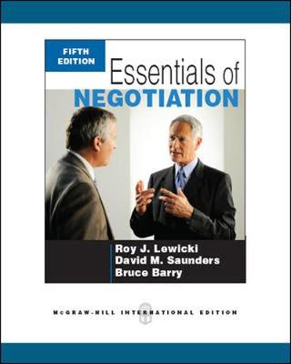 Essentials of Negotiation (Int'l Ed)