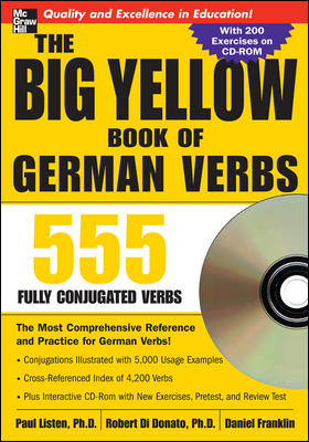 The Big Yellow Book of German Verbs (Book w/CD-ROM)