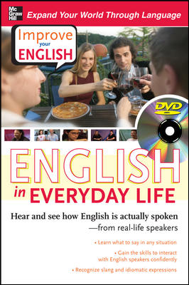 Improve Your English: English in Everyday Life (DVD w/ Book)