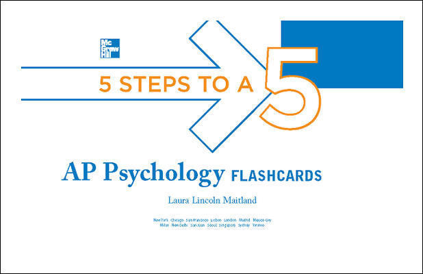 5 Steps to a 5 AP Psychology Flashcards